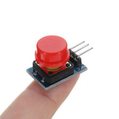 10pcs Big Key Module Push Button Switch With Hat High Level Output Electronic