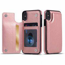 High-grade Business Men Magnetic Leather Wallet Case for IPhone 12 mini Pro Max 11 Pro Max 6 6S 7 8 7Plus X Xs Max Card Slot Shockproof Flip Cover