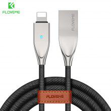 FLOVEME for Lightning To USB Cable for IPhone X 8 7 6 6S 5 5S SE for IPad Charger 1.2M Safe Durable LED Sync Cable Fast Charging