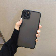 Camera Protection Bumper Phone Cases for IPhone 11 11 Pro Max XR XS Max X 8 7 6 6S Plus Matte Translucent Shockproof Back Cover
