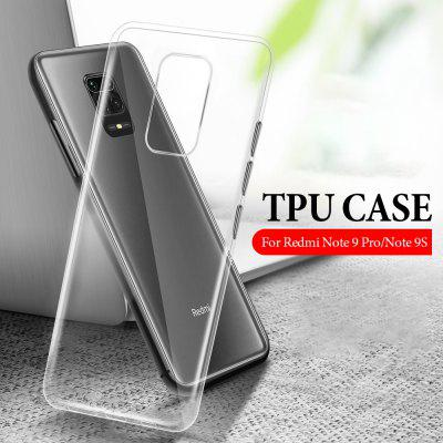 Clear Transparent Case for Xiaomi Redmi Note 9S 9 8 Pro 9Pro Max 8Pro Funda Note9 Note8 TPU Cover Silicon