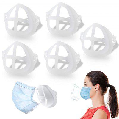 5Pcs 3D Mask Bracket Protect Lipstick Lips Internal Support Holder Frame Nose Breathing Smoothly DIY Face Accessories