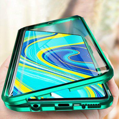 360 Magnetic Case for Redmi Note 9 Pro Double Sides Tempered Glass Cover 9s POCO X3 NFC Metal Frame