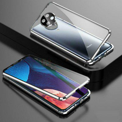 Magnetic Case for Xiaomi Pocophone F2 Pro Case Double-Sided Full Protected Tempered Glass Case on For Redmi Poco F2 Pro