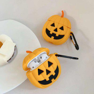 Halloween Cartoon Case For Airpods 1 2 Cover Wireless Bluetooh Earphone Airpod Carabiner Soft Silicone