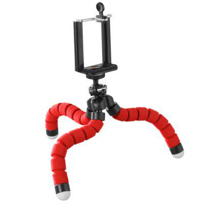 Flexible Tripod Phone Holder for IPhone Huawei Samsung Xiaomi Sponge Octopus Mobile Stand Smartphone Camera