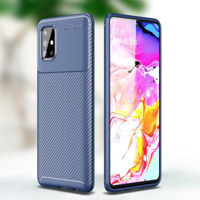 Case For Samsung A51 Carbon Fiber TPU Soft Cover for Galaxy A71 A91 A50 S10 Lite S20 Ultra Note 20 10 Plus Back