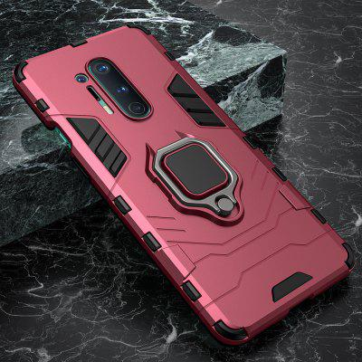 Shockproof Armor Case for Oneplus 8 Pro 7 7T Stand Car Ring Magnetic Back Phone Cover 1+7