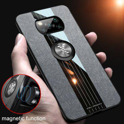 Car Magnetic Ring Leather Case for Xiaomi POCO X3 NFC Mi 10 Ultra 9T Pro Redmi Note 9S Shockproof Cover