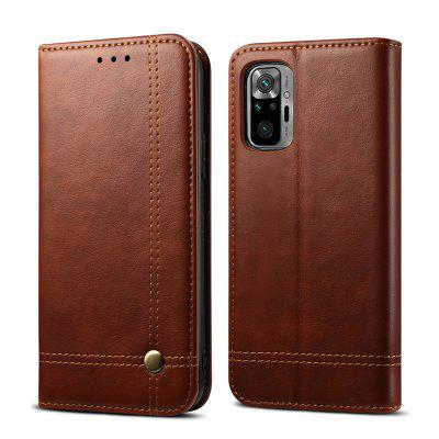 Wallet  Case for Xiaomi Redmi Note 10 Pro Card Luxury Retro Leather Stand Magnetic Book Flip Cover Phone Cases