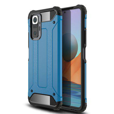 Armor Shockproof Case for Xiaomi Redmi Note 10 Pro Cover PC Protective Phone Bumper