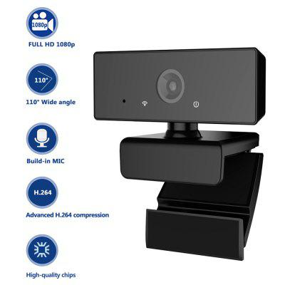 Camera USB Webcam C60 Webcam Built-in Mic with Full HD 1080p and Wide Compatibility