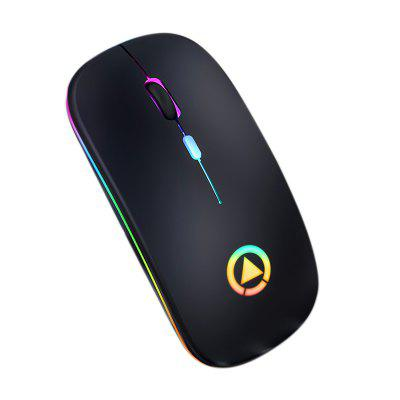 Mouse Smart Wireless Charging Bluetooth Colorful Glowing