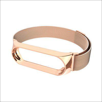 Metal Magnetic Wrist Band Bracelet Strap for Xiaomi Mi Band Closure Strap Stainless Steel MiBand Wrist Band Screwless Belt