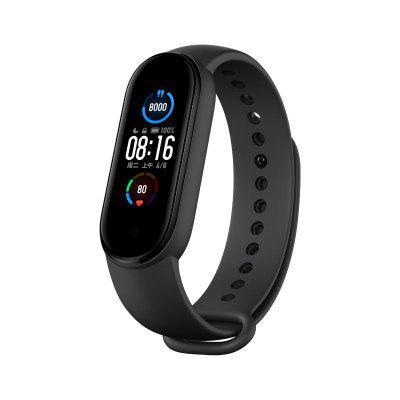 New Xiaomi Mi Band 5 Smart Home Control AI Voice Assistant Heart Rate Sleep Step Swim Sport Monitor APP Push Reminder Alarm