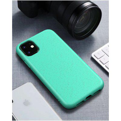 Stylish Simplicity Mobile Phone Shell Degradable Wheat Straw Protective Cover Apple XS Frosted Soft Shell