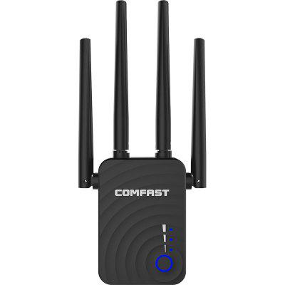 COMFAST WR754AC 1200M Wifi Wireless Signal Amplifier Extender Router Repeater