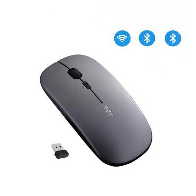 Inphic Wireless Mouse Computer Bluetooth Silent Rechargeable Ergonomic 2.4Ghz USB Optical For Macbook Laptop PC