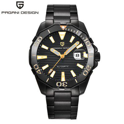 PAGANI DESIGN Brand 1617 Luxury Mens Automatic mechanical watches Fashion Waterproof Steel Stainless Watch Men
