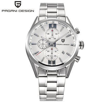 PAGANI DESIGN 2516 Luxury Brand Chronograph Business Watches Men Waterproof 30m Japanese Movement Quartz Watch Clock Men reloj hombre
