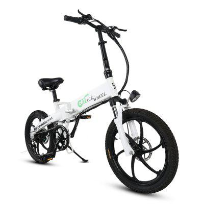 CMACEWHEEL GT20 Inch Lithium Ion ElectricBike Foldable Variable Speed Electric Bike 48V 350W Commute Quick And Easy Image