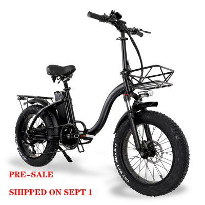 Pre-sale CMACEWHEEL Y20 Inch Variable Speed E-bike 48V/15Ah 750W WithStrong Power Image