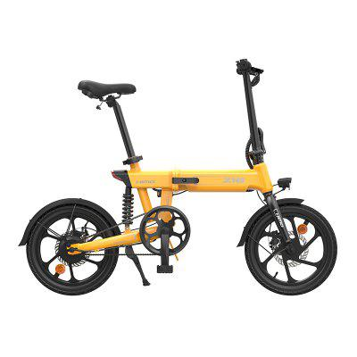 Himo Z16 Folding Electric Bicycle 36V 250W Goingtowork  Commuting  Walking Beach Cruiser Bike Booster bicycle folding Image