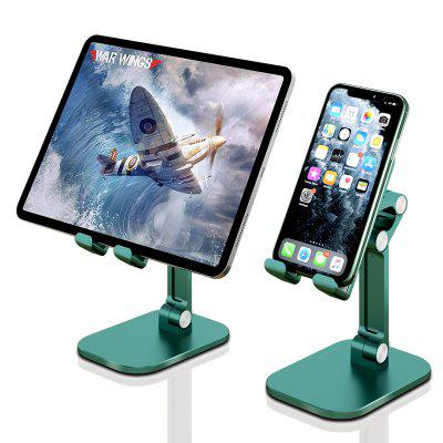 Adjustable Cell Phone Stand Angle Height Foldable Holder For Desk w/Anti-Slip Silicon Pad Tablet