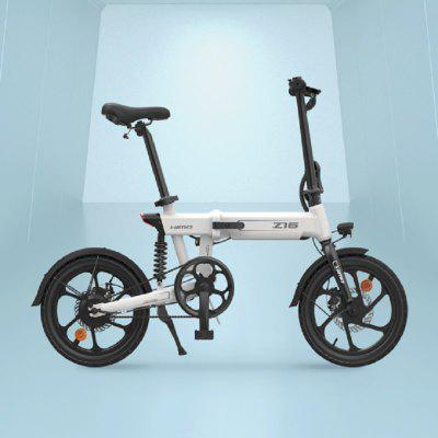 HIMO Z16 Fold Electric Bicycle Urban Lithium Battery Scooter 36v250w Rear Wheel Drive Motor Soft Tail Frame Bike