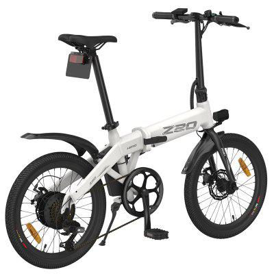 Presale Himo Z20 Electric Fold Ebike 36V10AH Hidden Lithium Battery 250w Motor 25km/h Urban Electric Bicycle Student Commuting Bicycle Image