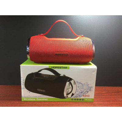 New H40 Small Drum Bluetooth Speaker Stereo 3D HIFI Subwoofer Hands-free Outdoor Portable Stereo Subwoofer