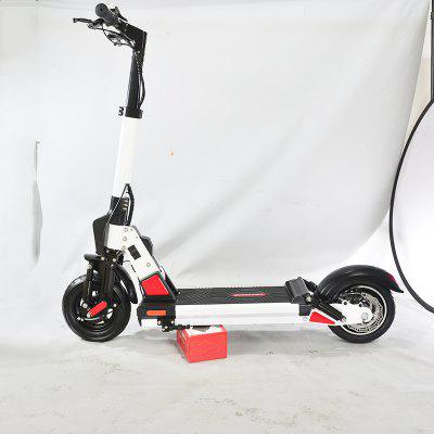 10 inch Electric Scooter 500W 48V Two Wheeled Electric Scooters High Powerful Foldable Electric Bike