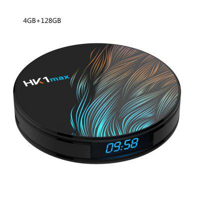 HUACHEN Android 9.0 HK1MAX Mini Smart TV Box 2.4G/5G Wifi Quad Core BT 4.0 Set Top Box Netflix Media Player Voice Control PK X96 HK1 MAX Image