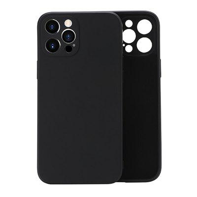 ASLING 9 colors Liquid Silicone Rubber paint phone cover for iPhone 12 / 11 XS/XR/6/7/8/SE 2020