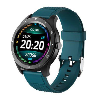 Jeaper Smart Watch S6 Touch Round Bracelet Pressure Fitness Heart Rate Blood Tracker Band Color Men Women Sports Call Alarm Smartwatch for Android IOS