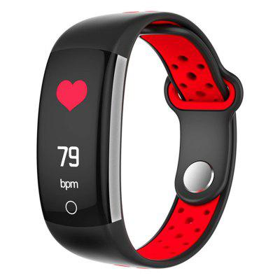 Jeaper Smart Bracelet Q6 Men Blood Pressure Heart Rate Fitness Tracker Watch Women Color Screen Waterproof Sports Band for Android IOS