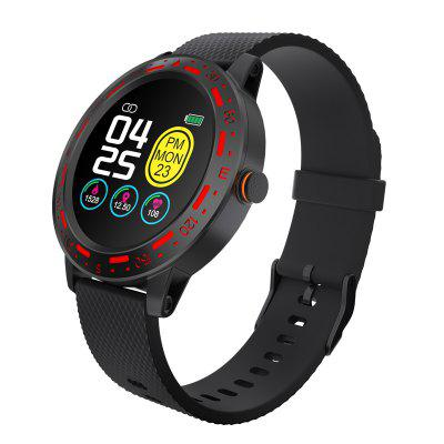 Jeaper Full Touch Smart Watch S18 Waterproof Heart Rate Sleep Monitor Bracelet Blood Pressure Fitness Tracker Band Sport Smartwatch