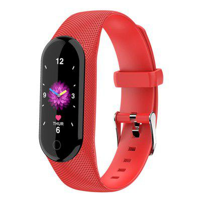 Smart Bracelet IK08 Waterproof Heart Rate Smartwatch Blood Pressure Monitor Fitness Tracker Band Android IOS Color Sports Watch