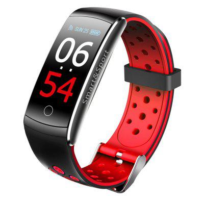 Jeaper Smart Bracelet Q8S Android IOS Heart Rate Sleep Monitor Blood Pressure Smartwatch Fitness Tracker Color Screen Sports Band
