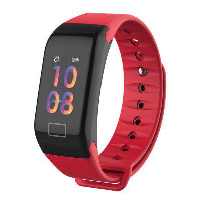 Smart Bracelet F1 Women Heart Rate Smartwatch Sleep Monitor Fitness Tracker Men Blood Pressure Band Color Screen Band for Phone