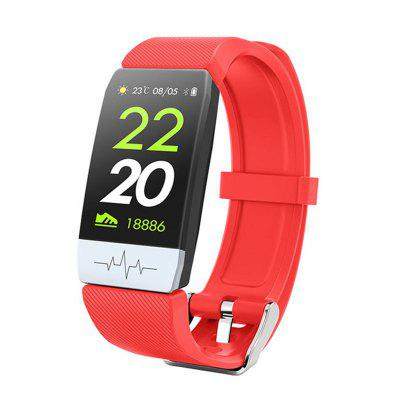 Jeaper Smart Band Q1S ECG Heart Rate Sports Smartwatch Blood Pressure Sleep Monitor Bracelet Fitness Tracker Color Call Message Watch for Android IOS
