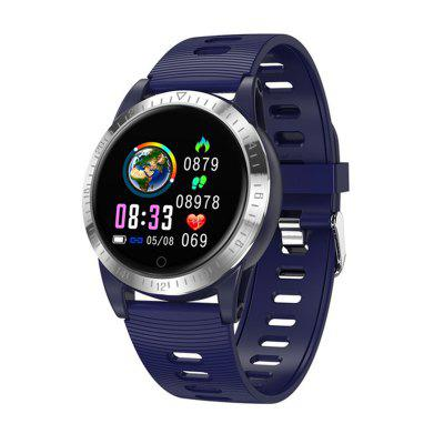 2020 Jeaper New Waterproof Smartwatch AK19 Color Screen Adult Fitness-Tracker Heart Rate Blood-Pressure Sleep Monitor Round Wristband