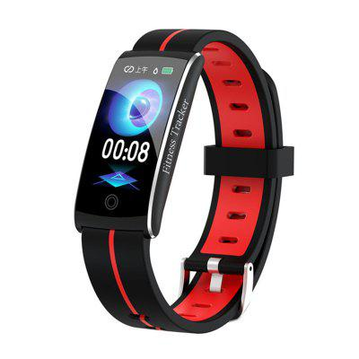Jeaper Smart Bracelet F10C Sport Activity Blood Pressure Health Smartwatch Fitness Tracker Blood Pressure Color Screen Band for Android IOS Phone