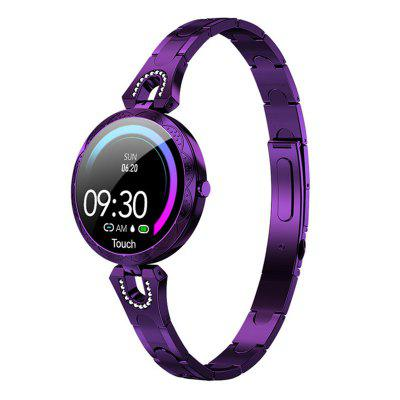 Jeaper Women Fitness Bracelet AK15 Shine Smart Watch Heart Rate Fitness Tracker Lady Color Sport Call Passometer Alarm Android