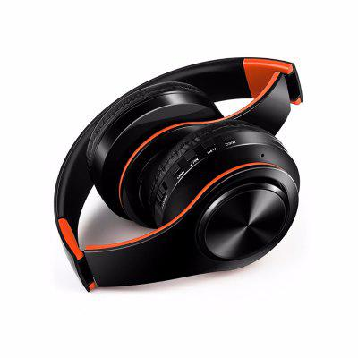 Jeaper B7 Wireless Bluetooth Headphones Foldable Portable Stereo Headsets Support TF Earphone with Mic  For PC  phone