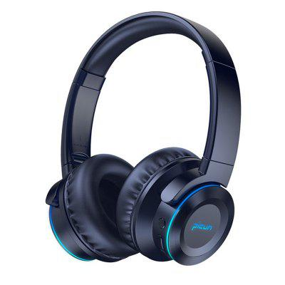 Picun B9 Bluetooth 5.0 Wireless Headphones with Mic 40hrs  playing time headset music for TV PC Iphone Samsung Xiaomi mp3
