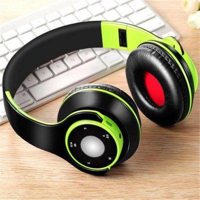 Jeaper Wireless Headphones H8 Bluetooth Headphone EQ Mode Colorful Stereo Audio Headset Support SD Card With Mic play 7 hours  For MP3 PC Phone