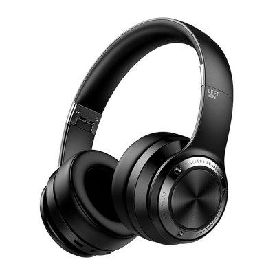 Picun B21 Bluetooth Headset Wireless Headphones Foldable Comfy Touch Control Stereo with HD Mic Support TF Card Over Earphone for Phone PC