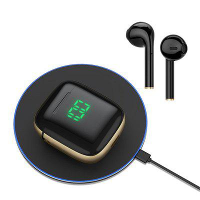 Фото - Jeaper TWS Wireless Bluetooth Headphones WK60 Stereo Earbuds Headset LED Display Touch Control Earphone With Wireless Charging For Huawei Android iOS tws 210 mini tws earbuds bt5 1 wireless earphone 9d stereo headphone hifi sound ipx5 waterproof with mic battery digital display