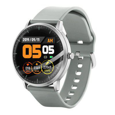 Smart Watch T9 Thermometer Touch Round Bracelet Heart Rate Monitor Blood Pressure Temperature Band Music Control Sports Watch
